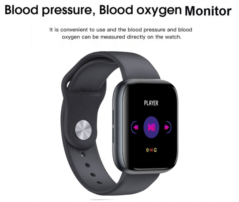 Blood Pressure Smart Watch