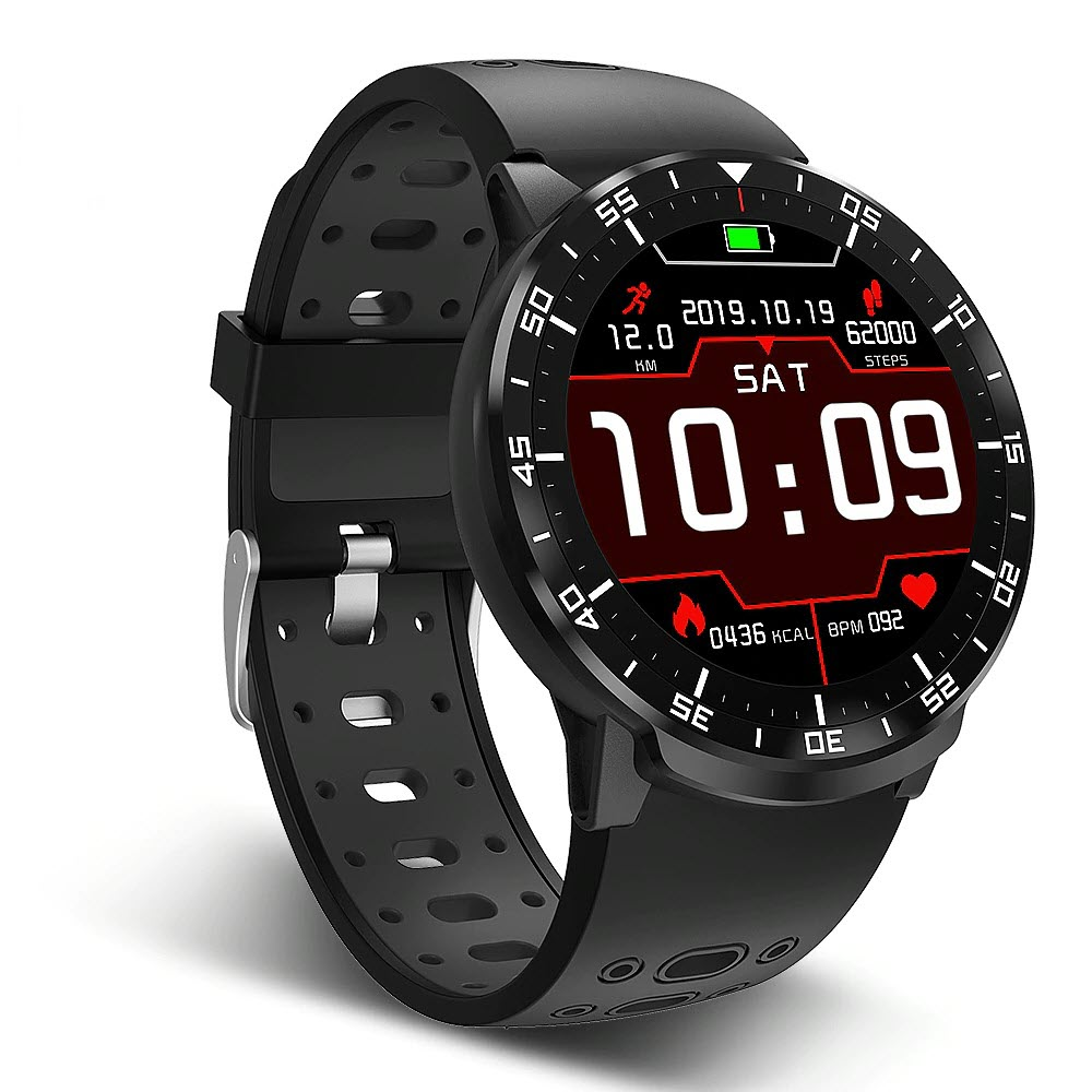 Black BP Smart Watch
