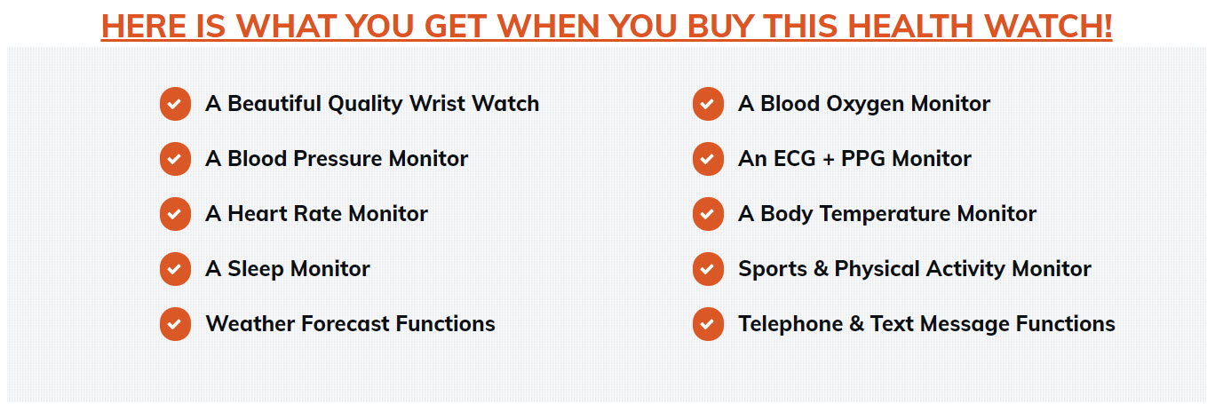 BP and ECG Watch