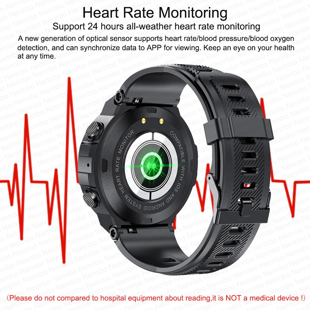 heart rate and blood pressure monitoring